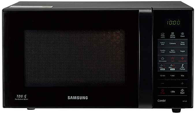 Samsung 21 L Convection Microwave Oven (CE73JD-B/XTL, Black)