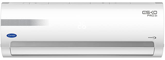 Carrier 1.5 Ton 3 Star Inverter Split AC (Copper, CAI18EO3N8F0, White)