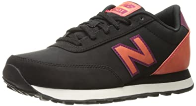 New Balance Women's 501 Fashion Sneakers, Black/Drag, ...