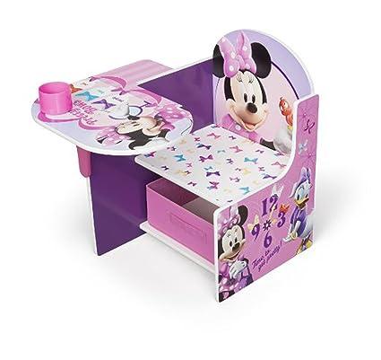 Disney Chair Desk With Storage Bin Minnie Mouse Characters Desk Set Fabric Storage Bin Seat Extra  sc 1 st  Amazon.com & Amazon.com: Disney Chair Desk With Storage Bin Minnie Mouse ...
