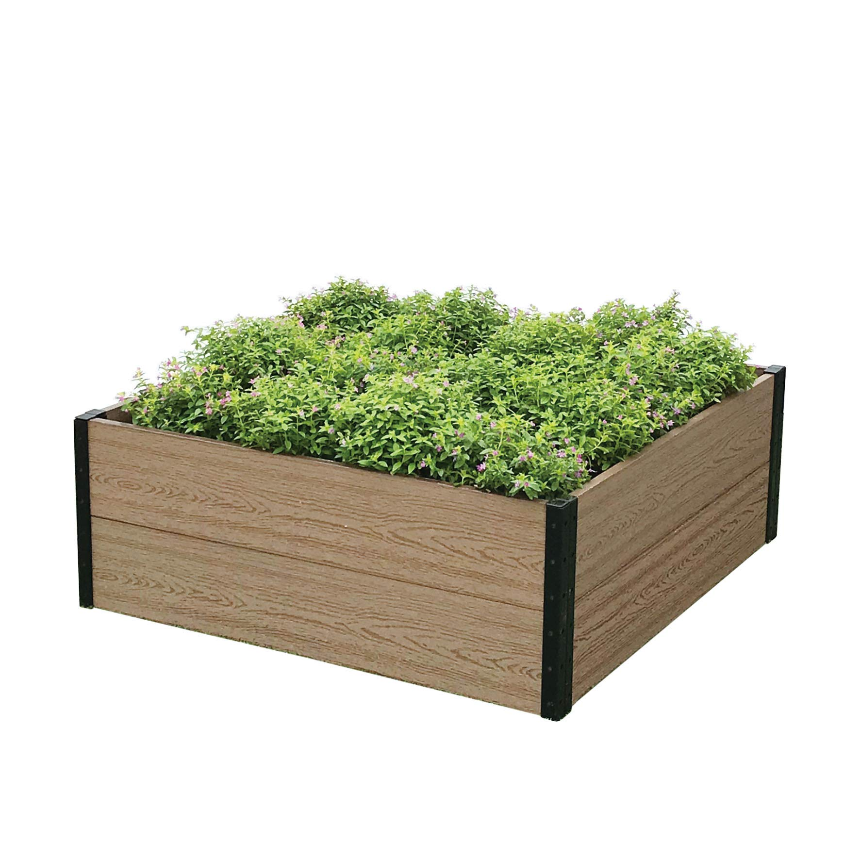 Everbloom Deep Root Raised Garden Bed 38'' L x 40'' W''x 14'' H for Growing Herbs, Vegetables, Flowers