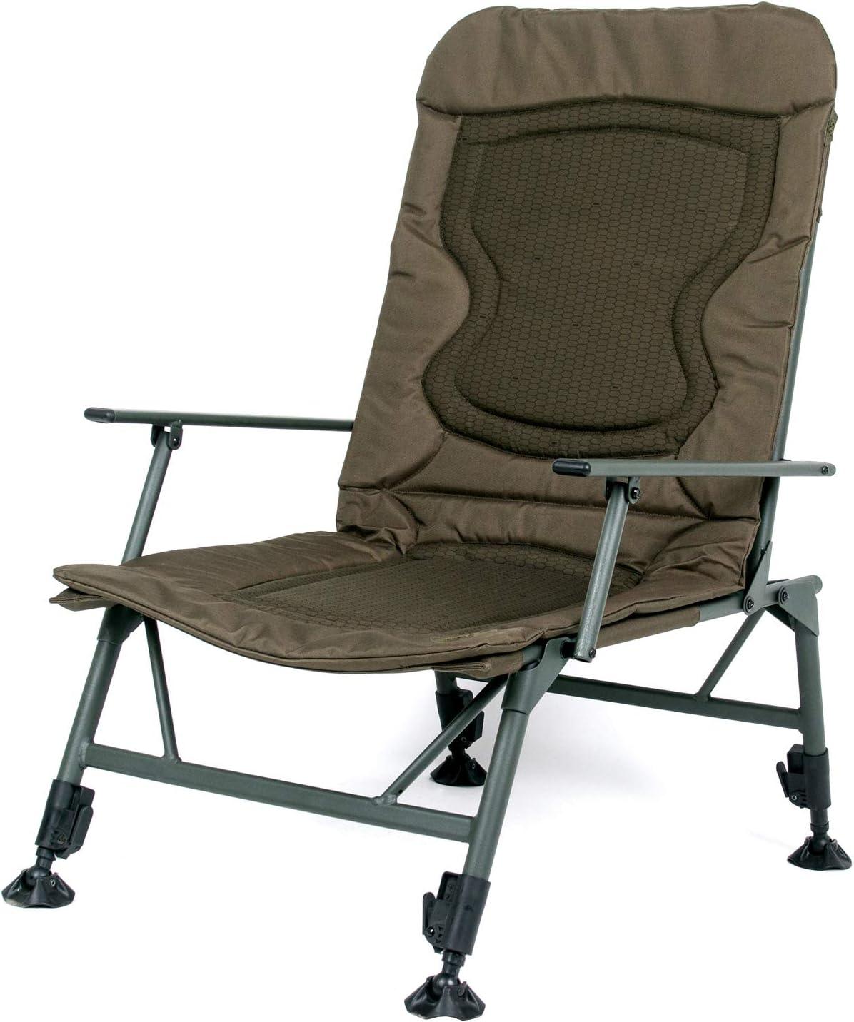 Nash KNX Armchair Standard T4343 Stuhl Karpfenstuhl Sitz Angelstuhl Carpchair Chair