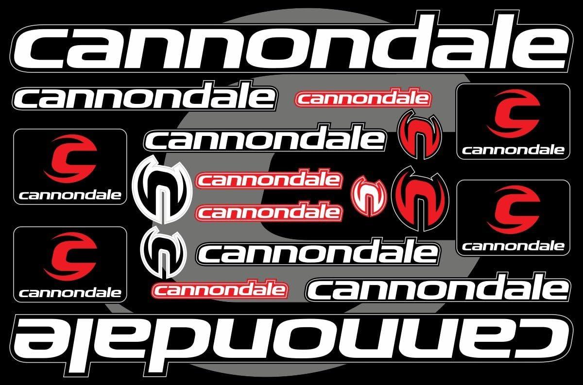 Cannondale Decals Stickers Bicycle Graphics Set Autocollant Aufkleber Adesivi #4