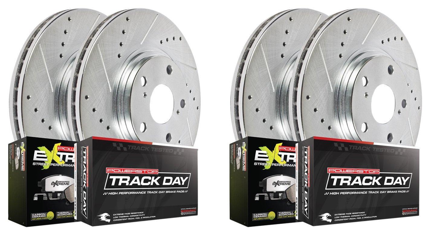 Power Stop Brakes >> Amazon Com Power Stop Tdpk6794 Track Day Plus Brake Kit Automotive