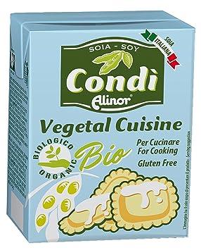 condì panna da cucina alla soja senza glutine 200g: amazon.co.uk ... - Panna Da Cucina Senza Glutine