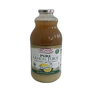 Lakewood Juice Pure Lemon Organic, 32 Oz