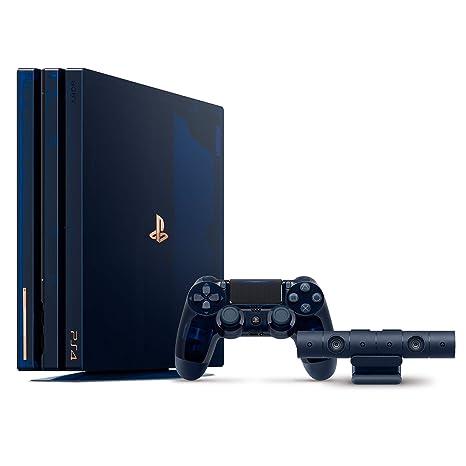 3562e93450f18 PlayStation 4 Pro 2TB 500 Million Limited Edition  Amazon.com.mx   Videojuegos