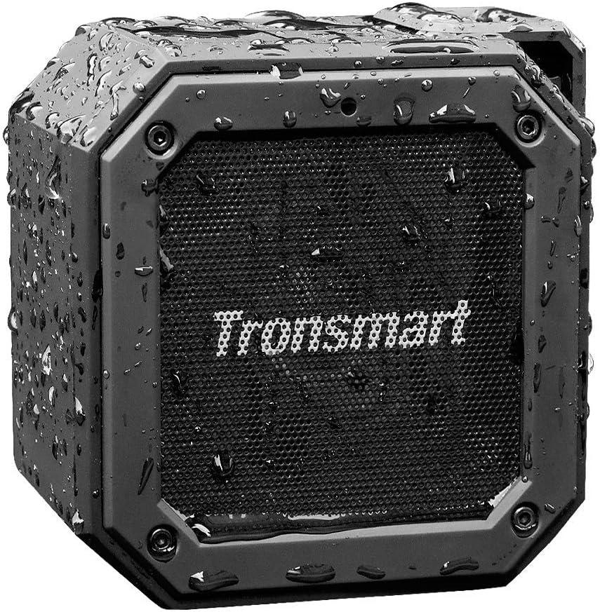 Tronsmart Groove Altavoz Exterior Bluetooth Portátiles, 24 Horas de Reproducción, Impermeable IPX7, Extra Bass con Tecnología TWS, Construido en Micrófono, para Smartphones, Fiesta, Viajes, Playa