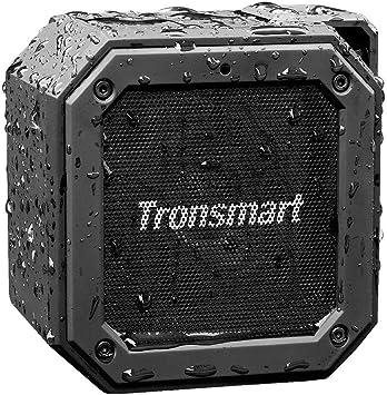 Tronsmart Groove Altavoz Exterior Bluetooth Portátiles, 24 Horas ...