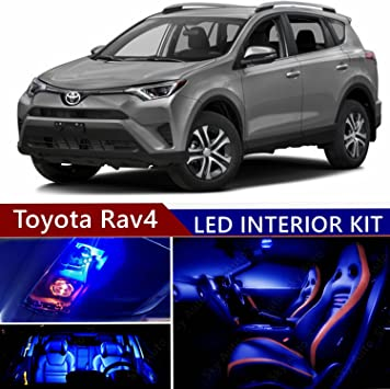 Amazon Com Sky Auto Inc Led Premium Blue Light Interior Package