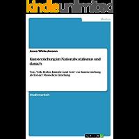 """Kunsterziehung im Nationalsozialismus und danach: Von """"Volk, Boden, Künstler und Gott"""" zur Kunsterziehung als Teil der Musischen Erziehung"""