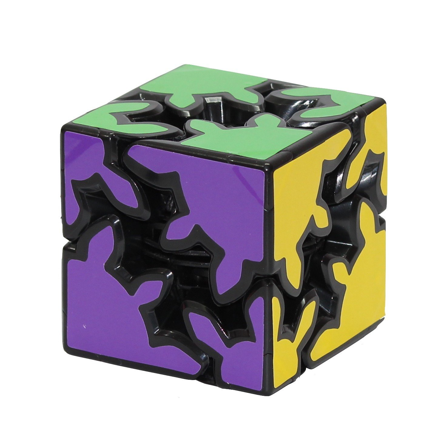 Amazon Price History for Cubelelo Gear Shift 2X2 Magic Cube Puzzle (Black)
