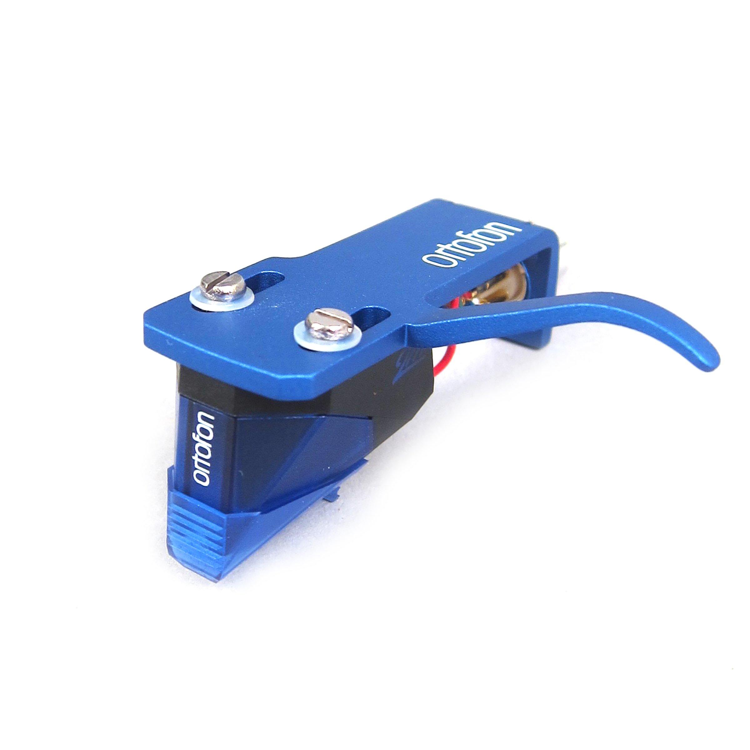Ortofon: 2M Blue Cartridge Mounted on SH-4 Headshell by Ortofon