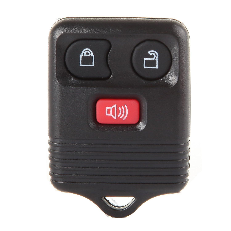 CCIYU 1 x車3ボタン交換キーレスエントリーリモートキーFobクリッカー送信機アラームforフォードe150 e250 e350 /フォードエッジ/フォードエスケープcwtwb1u331 B07C57YDP3