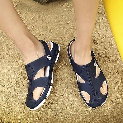 Comfort Slip On Casual Hole Shoes Sandals SHIJUNWE Fashion Mens Classic Clog
