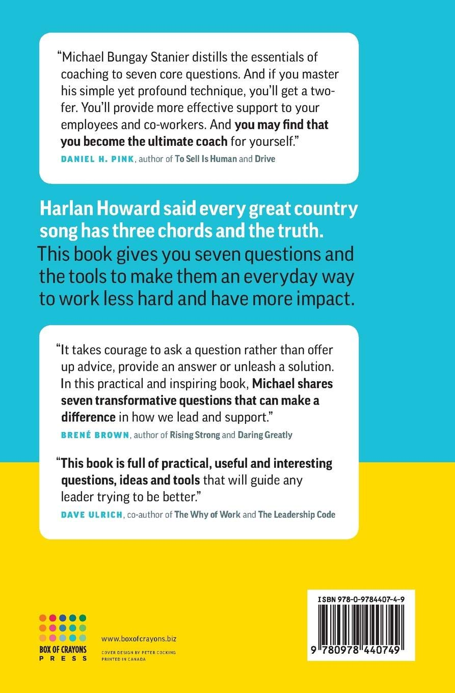Amazon.com: The Coaching Habit: Say Less, Ask More & Change the Way ...