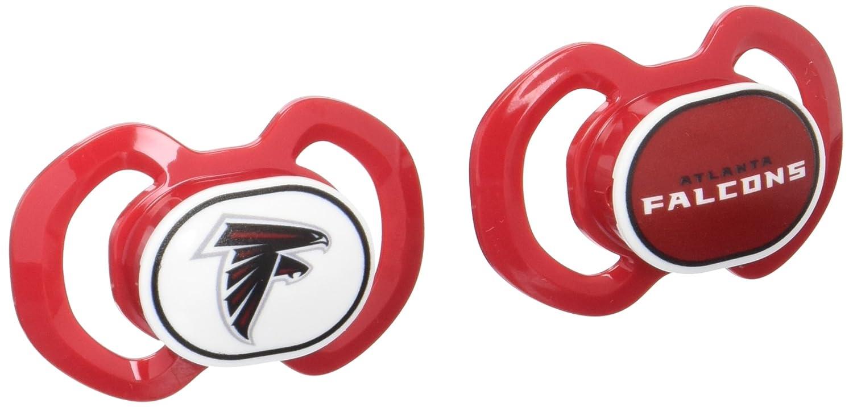 Baby Fanatic Atlanta Falcons 2 Piece Pacifier Set
