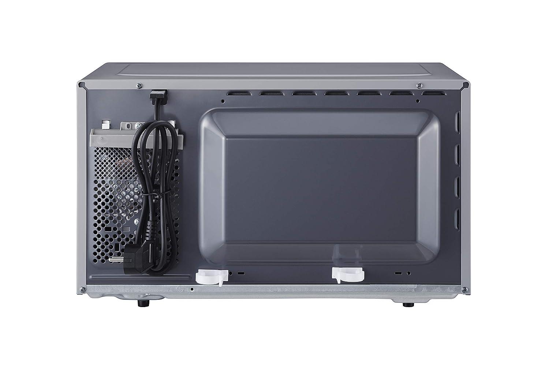 Panasonic NN-K36H - Microondas con Grill (800 W, 23 L, 5 Niveles de Potencia, Grill de Cuarzo de 1000 W, Plato Giratorio de 288 mm, Control Táctil, 11 ...