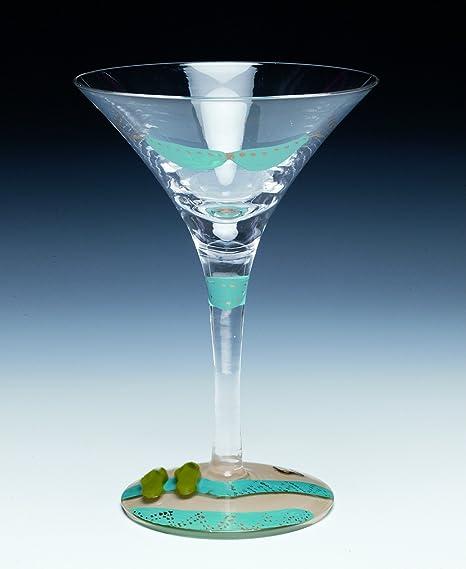 Bikini martini glass