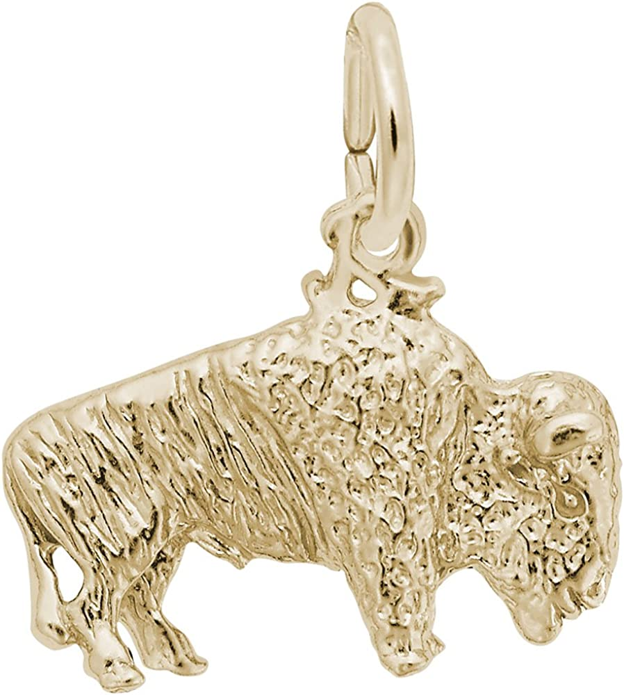 Buffalo Charm Charms for Bracelets and Necklaces