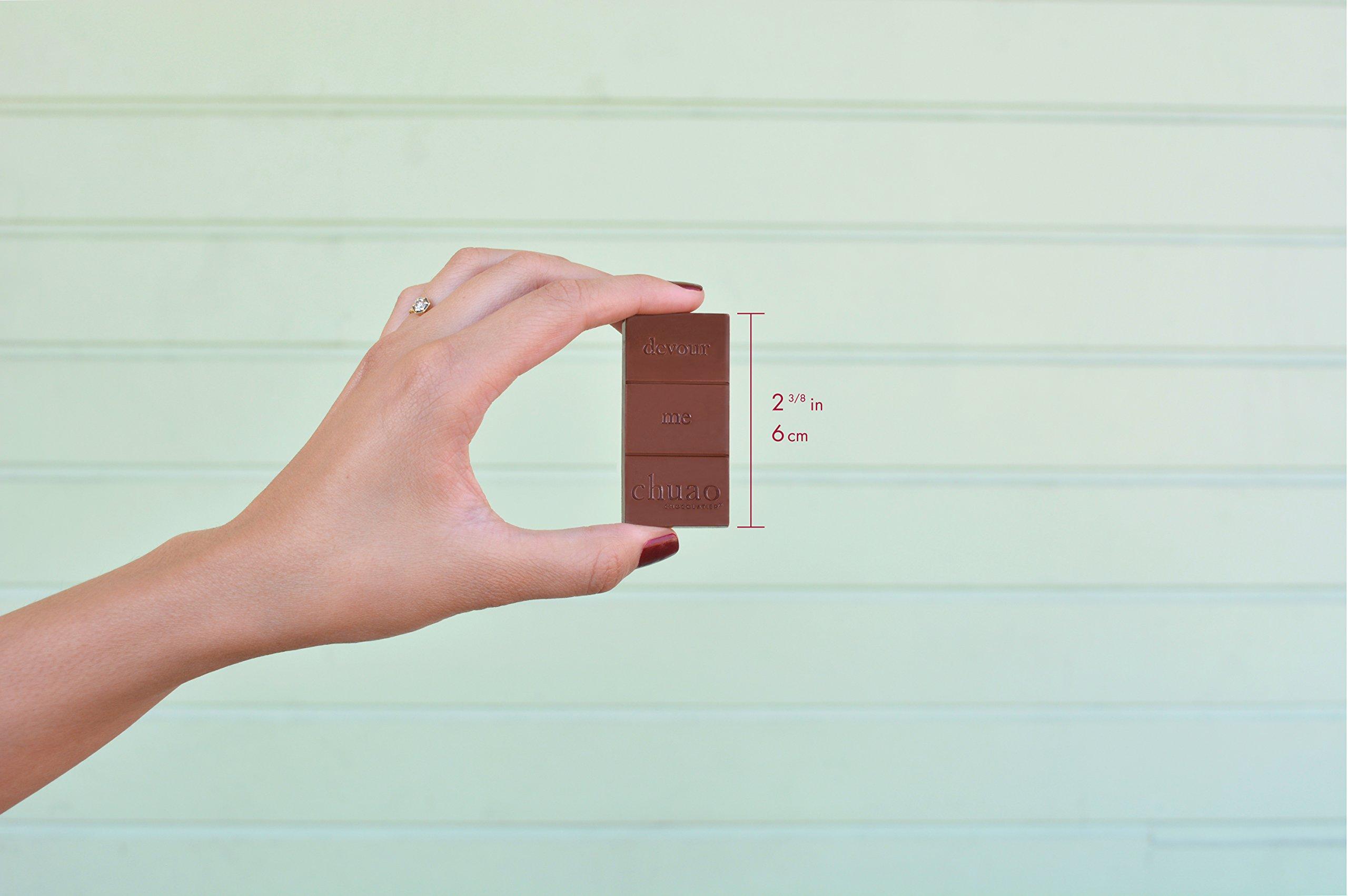 Chuao Chocolatier Share the Love Chocopod Gift Set - Mini Chocolate Bars (36-pack) by Chuao Chocolatier