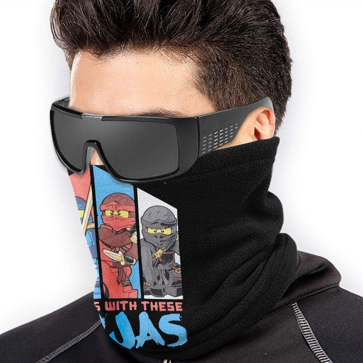 Eopro Ninjago Unisex Mikrofaser Face M Ask Bandanas Multifunktionstuch Halstuch Halstuch Sturmmaske Bekleidung