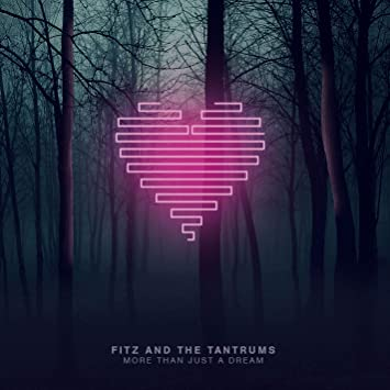FITZ AND THE TANTRUMS MORE THAN JUST A DREAM SIGNED ALBUM POSTER NOELLE SCAGGS