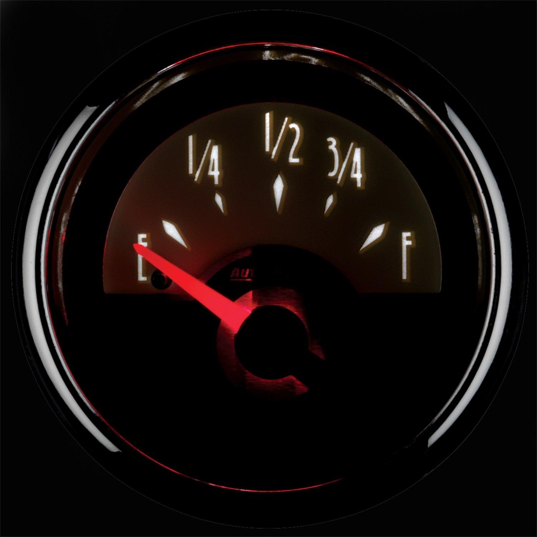 Auto Meter 1113 Cruiser 2-1//16 Short Sweep Electric Fuel Level Gauge