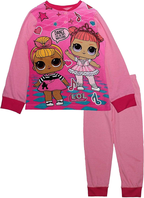 LOL SORPRESE Doll Niñas Niños Manga Larga Pijamas Conjunto