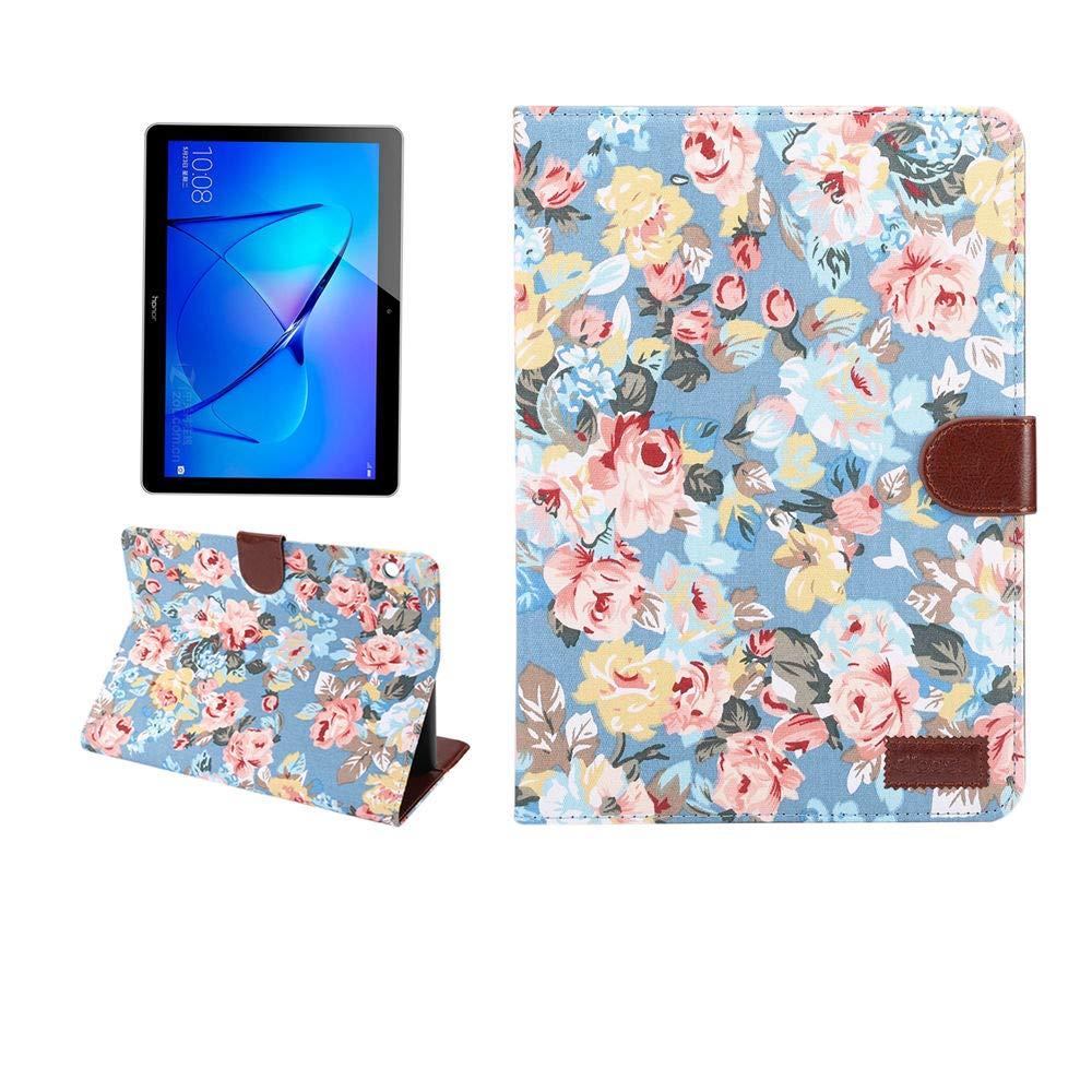 国内初の直営店 Huawei MediaPad M3 Lite 9.6ケース Lite Flower) 花柄PUレザーフリップウォレットスタンドカバーケース Huawei ブルー(Blue MediaPad M3 Lite 9.6インチ用 CAWJXjt-HB-HW M3 Lite 9.6-Blue ブルー(Blue Flower) B07KX4SDC7, マイセン:49280fa2 --- a0267596.xsph.ru