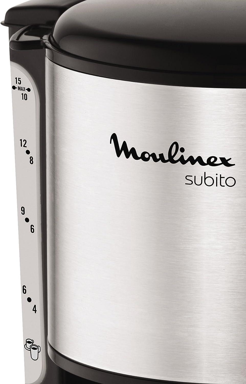 Moulinex FG360811 Cafetera de filtro, 12 tazas, función Auto, 1000 ...