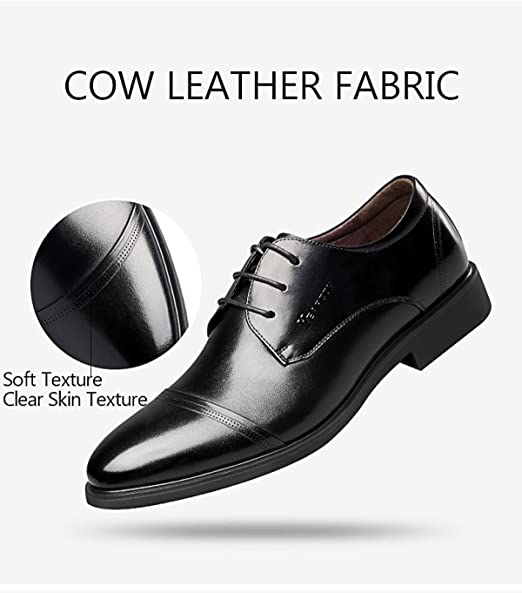 MUYII Oxfords Dress Shoes For Men Scarpe Stringate In
