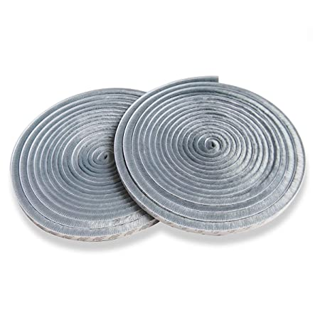 Yardsky Pile Weather Stripping Grey Brush Strip Self Adhesive