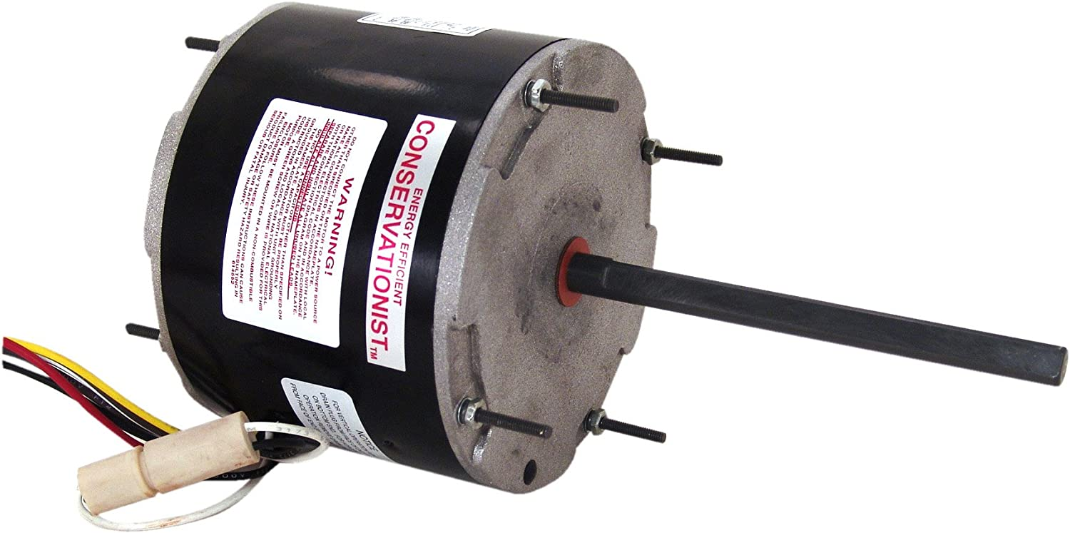 A.O. Smith FE6001F 1/3-1/5 HP, 825 RPM, 208/230 volts, 1.9 Amps, 48Y Frame,  Ball Bearing Condenser Motor - Electric Fan Motors - Amazon.comAmazon.com