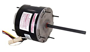 A.O. Smith FE6001F 1/3-1/5 HP, 825 RPM, 208/230 volts, 1.9 Amps, 48Y Frame, Ball Bearing Condenser Motor