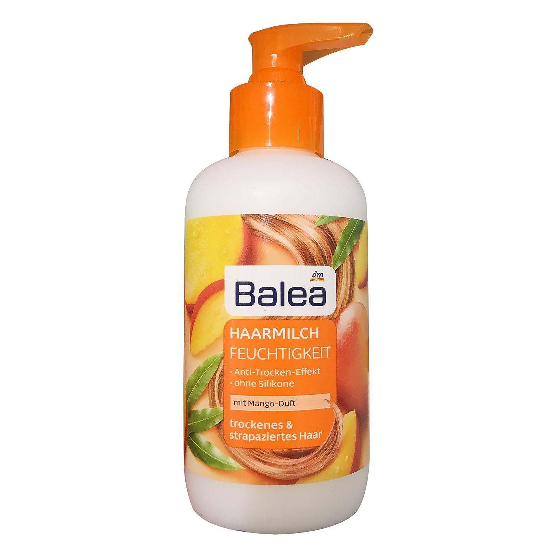Balea Haarmilch Feuchtigkeit mit Mango-Duft 200 ml Flasche (1er Pack)