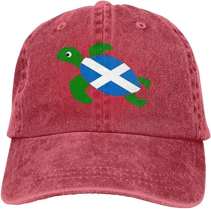 Gorra de béisbol para Hombres, Mujeres, Tortuga Marina, Bandera de ...