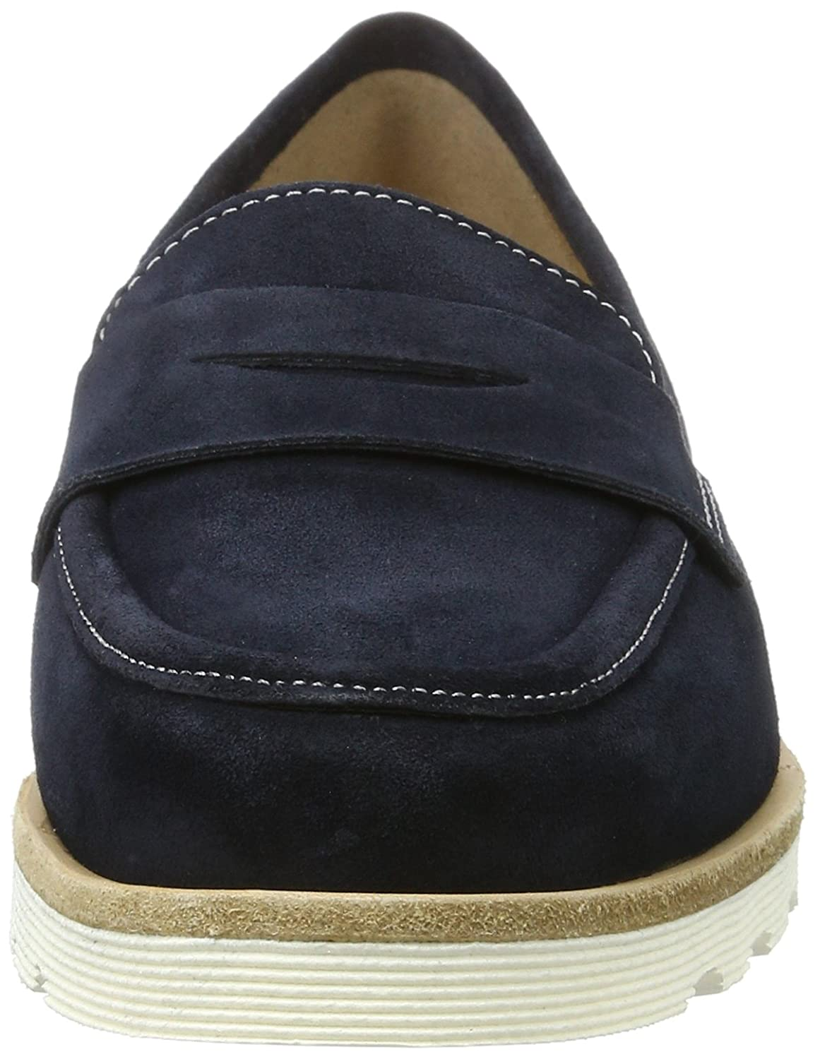 Sioux Damen Damen Sioux Velia Slipper Blau (Navy) b8be38