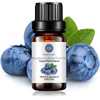 Blueberry Essential Oil 100% Pure Oganic Plant Natrual Flower Essential Oil for Diffuser Message Skin Care Sleep - 10ML