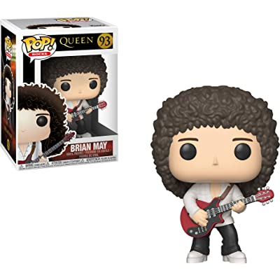 Funko 33720 Pop Rocks: QueenBrian May, Standard, Multicolor: Toys & Games