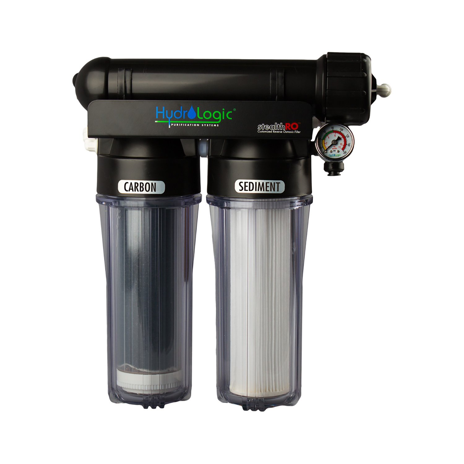 HydroLogic Stealth 150 GPD RO150 Reverse Osmosis Filter with Upgraded KDF Filter by HydroLogic