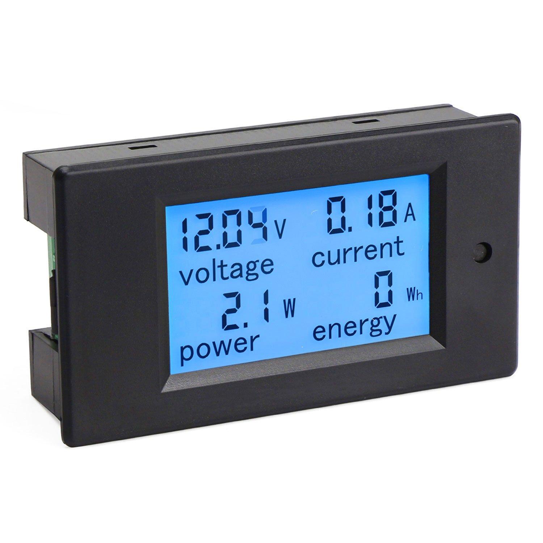 Drok Digital Multimeter Dc 65 100v 100a Voltage Electrical Meter Current Transformers Wiring Diagram Electronics