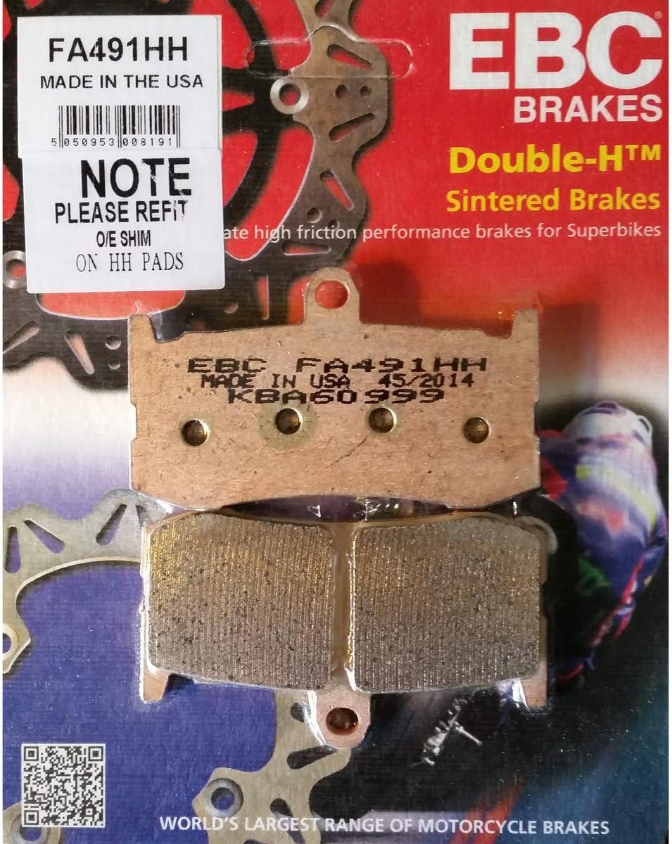 EBC Brakes FA226HH Disc Brake Pad Set