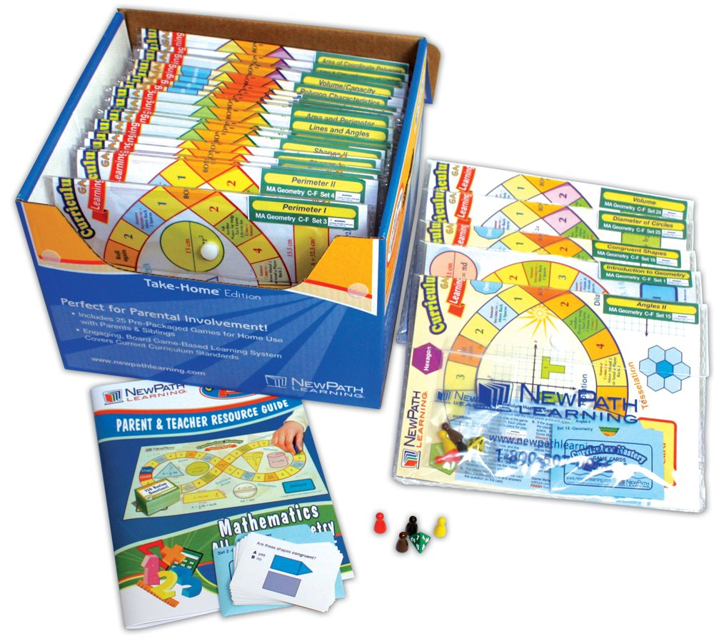 NewPath Learning Mastering Math Curriculum Mastery Game, Grade 3, Take-Home Pack