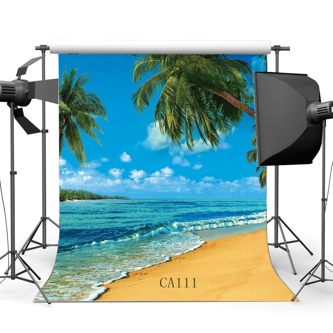 SUNNY Star 5/x 7ft//150/x 210/cm Seaside Playa paisaje fondo para estudio fotogr/áfico fondos personalizados Studio Props vinilo Thin para Studio//partido//decoraci/ón CA111
