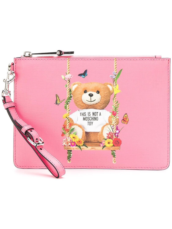 Moschino レディース A844682101206 ピンク 革 ポケット B07DNLDKHRUNI JP Brand Size UNI