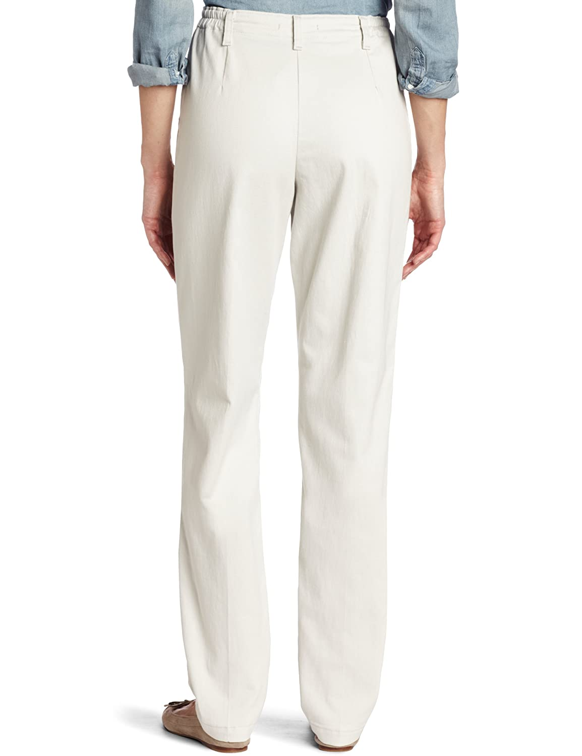 Lee Womens Relaxed-fit Pleated Pant