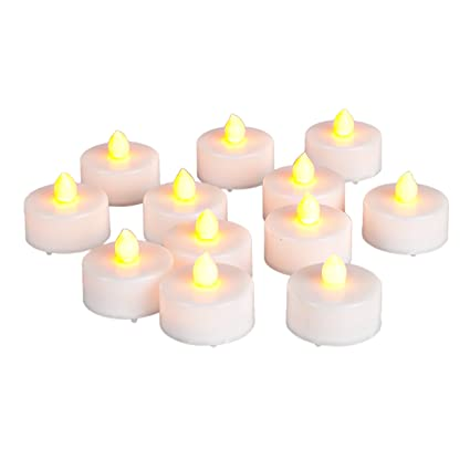 Amazoncom Everlasting Tealights Battery Operated Flamess Candles