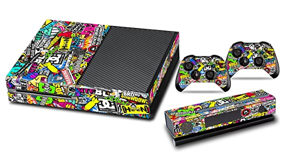 Stickers for Xbox One Console Skins Xbox One Games Accessories Sticker  Decals with Two Free Wireless
