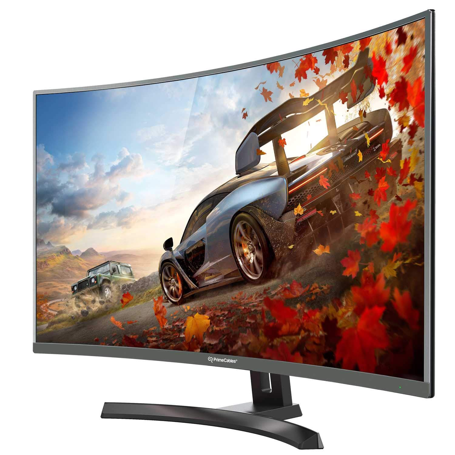 PrimeCables 144hz 1ms 27 inch 1080P FHD Super Thin Curved Gaming Monitor with Freesync(Cab PC ) Amazon Electronics